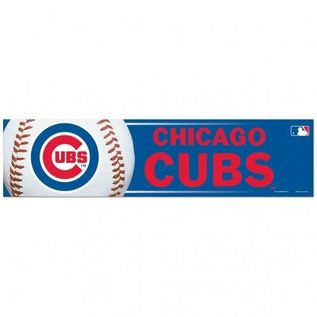 WinCraft, Inc. Chicago Cubs Bumper Sticker