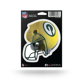 Rico Industries, Inc. Green Bay Packers Bling Helmet Die Cut Window Decal