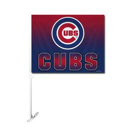 Fremont Die Chicago Cubs Ombre Car Flag