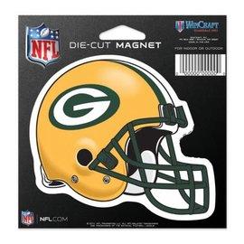 WinCraft, Inc. Green Bay Packers Diecut Helmet magnet