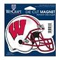 WinCraft, Inc. Wisconsin Badgers Diecut Helmet Magnet