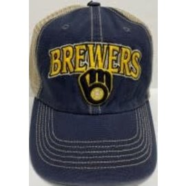 '47 Brand Milwaukee Brewers 47 Tuscaloosa Clean Up Adjustable Hat