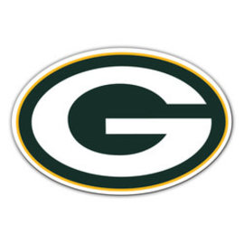 """Fremont Die Green Bay Packers 12"""" G Magnet"""