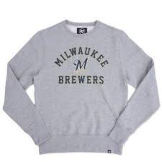 '47 Brand Milwaukee Brewers Men's Headline Crewneck  Sweatshirt