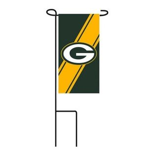 Green Bay Packers Mini Flag with Stand