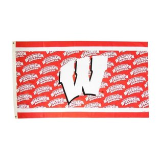Game Day Outfitters Wisconsin Badgers Game Day 3x5 Flag