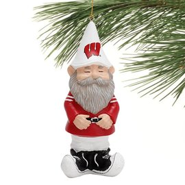 Evergreen Enterprises Wisconsin Badgers Gnome Ornament