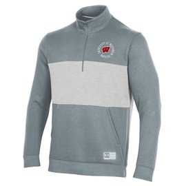 Under Armour Wisconsin Badgers Men's Gameday Terrain Half Zip