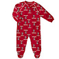 Wisconsin Badgers All Over Print Footed Sleeper