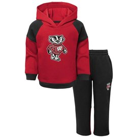 Wisconsin Badgers Youth Sideline Hoodie and Pant Set