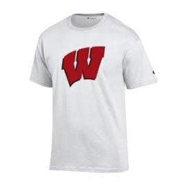 Wisconsin Badgers Youth Team Logo Short Sleeve Tee