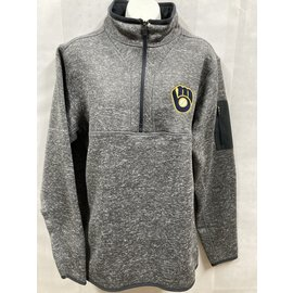 Antigua Milwaukee Brewers Men's Fortune 1/4 Zip