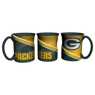Boelter Brands LLC Green Bay Packers 18oz Sculpted Twist Coffee Mug