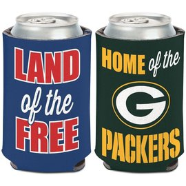 Majestic Green Bay Packers Patriotic Can Cooler