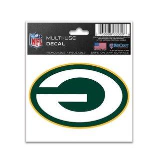 WinCraft, Inc. Green Bay Packers Multi-use 3X4 Decal - Backward G