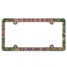 WinCraft, Inc. Chicago Cubs Full Color Plastic License Plate Frame