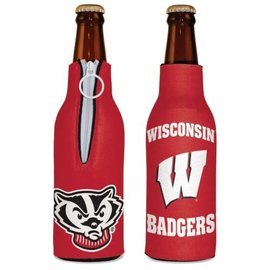 WinCraft, Inc. Wisconsin Badgers Bottle Cooler with Bucky