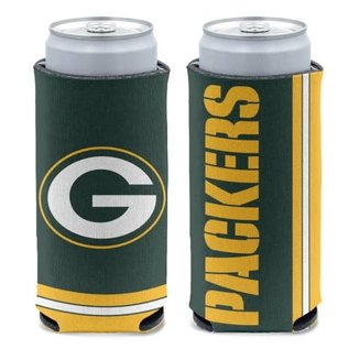 WinCraft, Inc. Green Bay Packers 12 oz Slim Can Cooler
