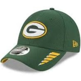 New Era Green Bay Packers Youth 9-40 Rush Adjustable Hat