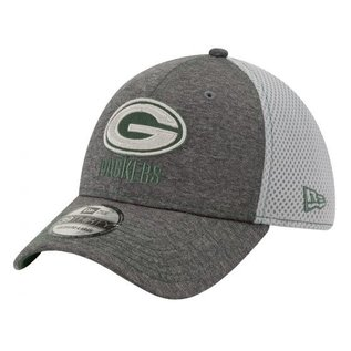 New Era Green Bay Packers 9 Forty Shadow Tech Neo Gray Adjustable Snapback