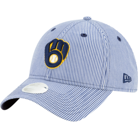New Era Milwaukee Brewers Women's 9-20 Preppy Adjustable Hat
