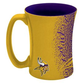 Minnesota Vikings 14oz Sculpted Mocha Mug