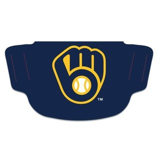 WinCraft, Inc. Milwaukee Brewers Fan Mask Face Cover