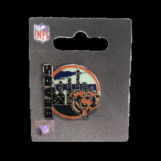 Chicago Bears City Skyline Pin