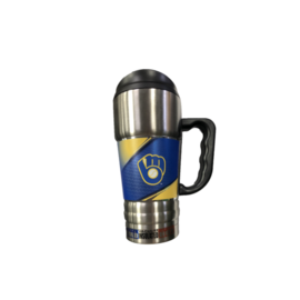 Great American Products, LTD Milwaukee Brewers Champ 20 Oz Travel Tumbler