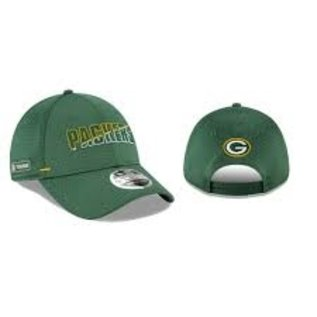 New Era Green Bay Packers 20 Training 9 Forty Stretch Snap Adjustable Hat