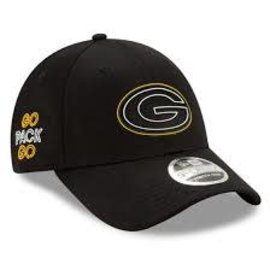 New Era Green Bay Packers 20 Draft 9 Forty Stretch Snap Adjustable Hat