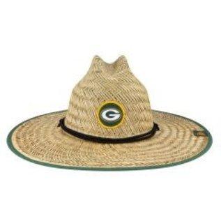 New Era Green Bay Packers Straw Hat