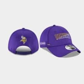 New Era Minnesota Vikings 20 Training 9 Forty Stretch Snap Adjustable Hat