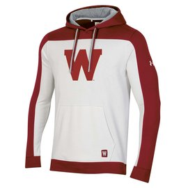 Wisconsin Badgers Men's Iconic Pullover Hoodie