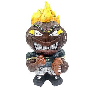"Green Bay Packers 8"" Tiki Character"