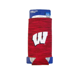 Wisconsin Badgers Team Active Slim Can Cooler