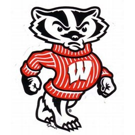 Wisconsin Badgers 2 Pack Bucky Magnets