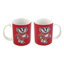 Wisconsin Badgers 11oz Rally Mug