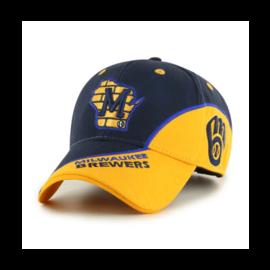'47 Brand Milwaukee Brewers Avalanche Adjustable Hat
