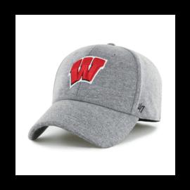 '47 Brand Wisconsin Badgers Gray Contender Flex Fit Hat