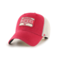 '47 Brand Wisconsin Badgers Vintage Fluid Two Tone Clean Up Adjustable Hat