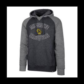 '47 Brand Milwaukee Brewers Men's Match Raglan Pullover Hoodie