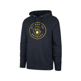 '47 Brand Milwaukee Brewers Men's Imprint Headline Pullover Hoodie