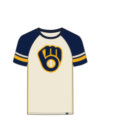 '47 Brand Milwaukee Brewers Men's Imprint Opener Short Sleeve Tee