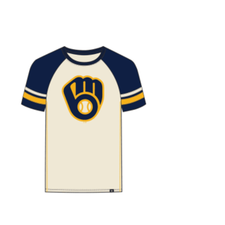 '47 Brand Milwaukee Brewers Men's Imprint Opener Short Sleeve Tee