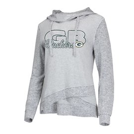 College Concepts LLC Green Bay Packers Women's Venture Hoodie