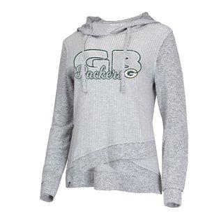 College Concepts LLC Green Bay Packers Women's Venture Hoodie