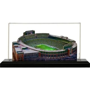 """Green Bay Packers 13"""" Light Up 3D Lambeau Field with Case"""
