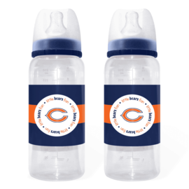 Baby Fanatics Chicago Bears Baby Bottles: 2 Pack