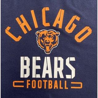Fanatics Chicago Bears Men's Flex Blend Battle Arc Short Sleeve Tee